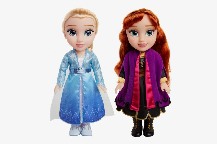 Disney Frozen 2 Princess Anna and Elsa Sister Interactive Doll 2 Pack - Walmart Exclusive