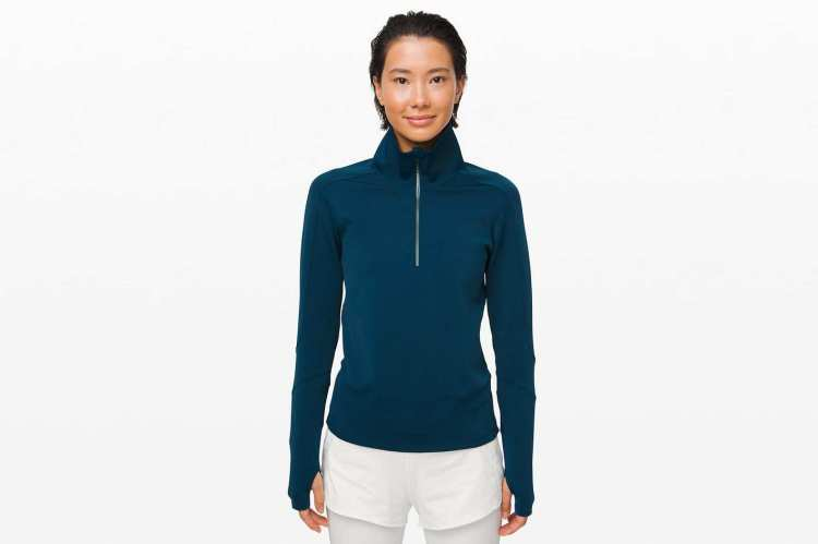 Lululemon Run to Reset 1/2 Zip