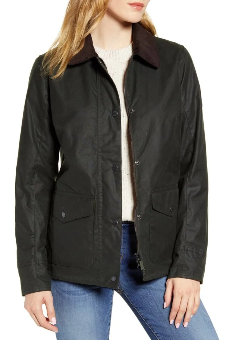 Barbour Shoreline Water Resistant Waxed Jacket