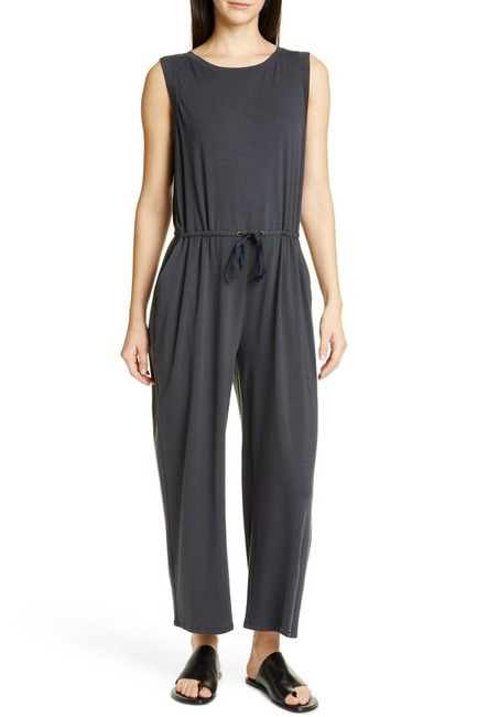 Eileen Fisher Stretch Tencel Lyocell Jumpsuit