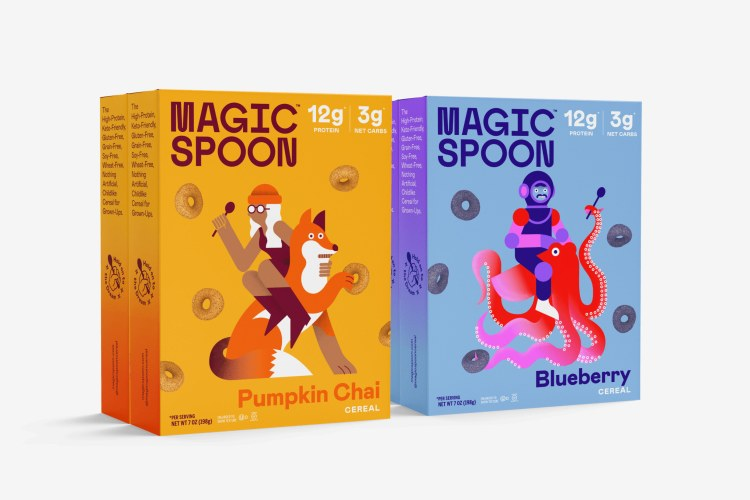 Magic Spoon Seasonal Case, 4 Boxes