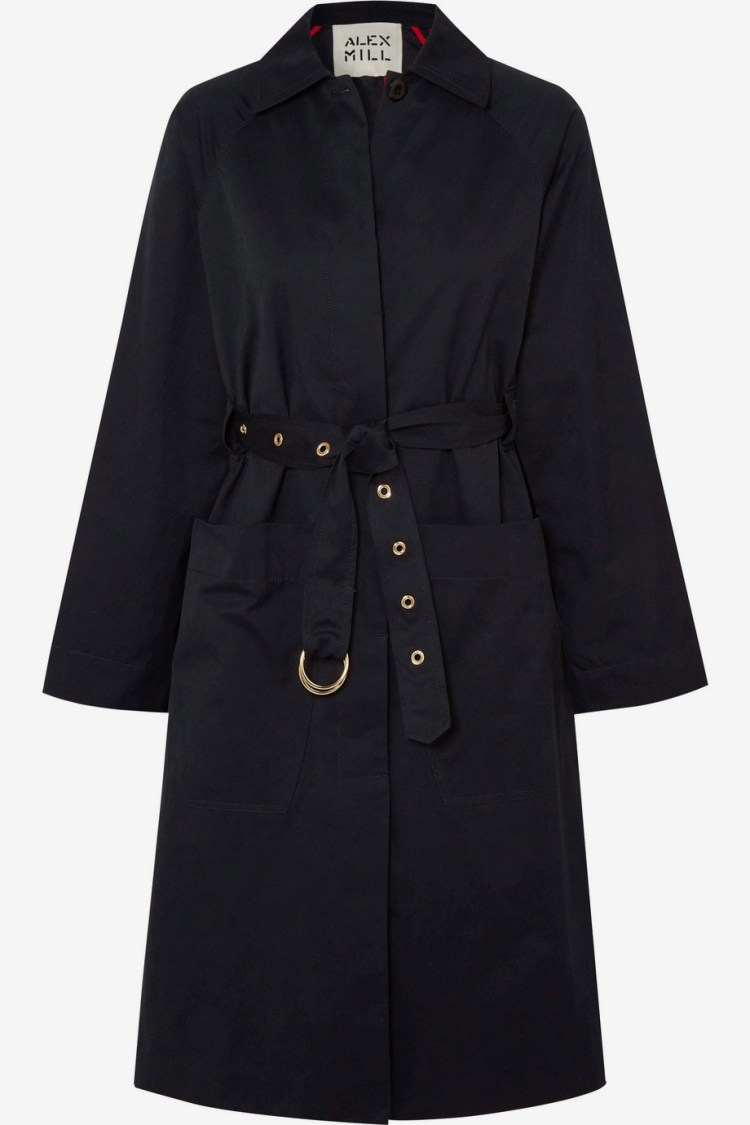 Alex Mill Channel Belted Trench Coat