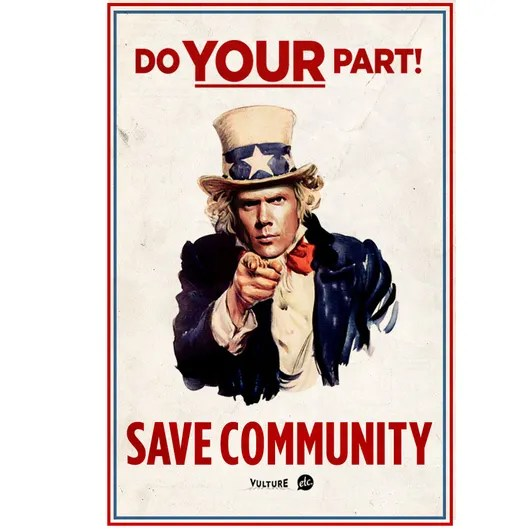 Here Are Three Save Community Posters Vulture