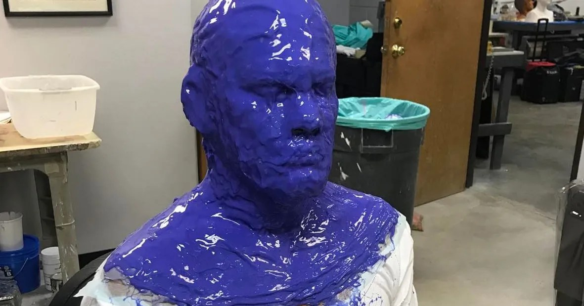See Josh Brolin Getting His Cable Mask Made For Deadpool 2