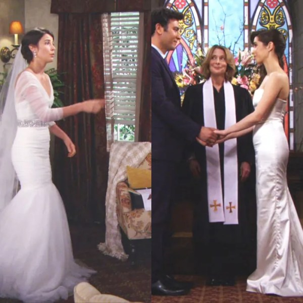 The Dress Killed Her How I Met Your Mothers WeddingDress Disaster