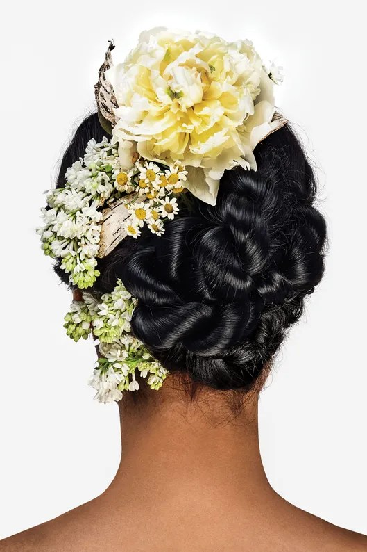 5 Ways To Wear Flowers In Your Hair The Cut