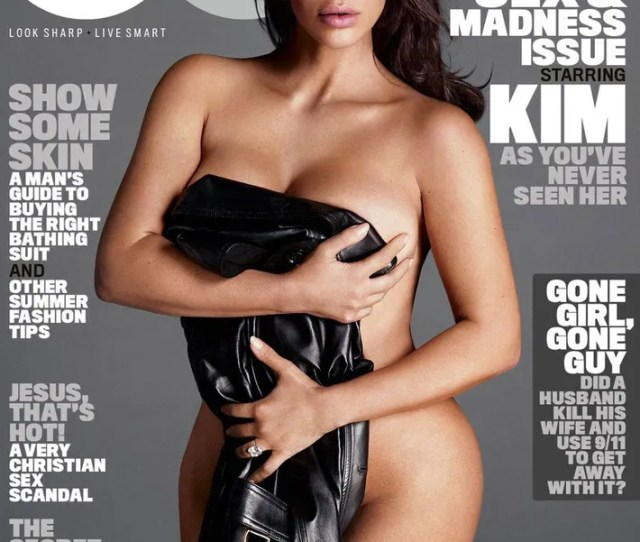 But Come To Think Of It None Of The Women Wearing Leather Jackets On The Cover Of Gq Seem To Be Wearing Much Of Anything Else Underneath