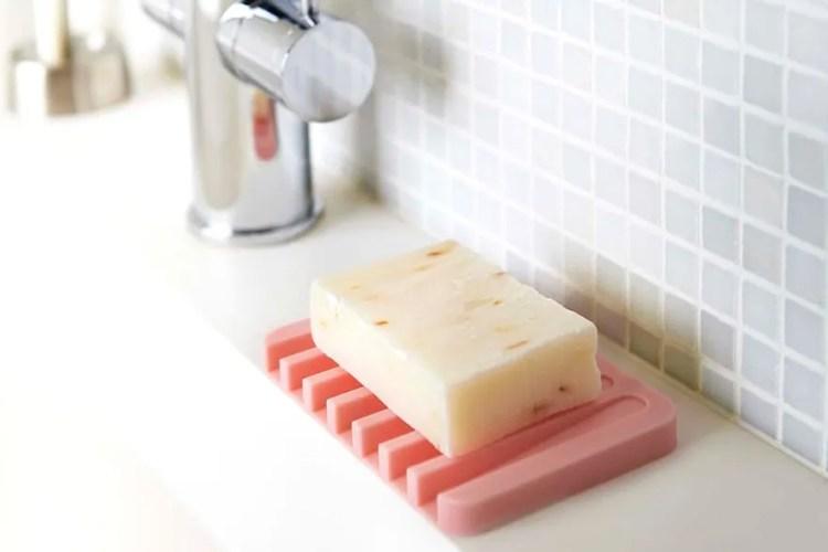 Yamazaki Home Silicone Soap Tray