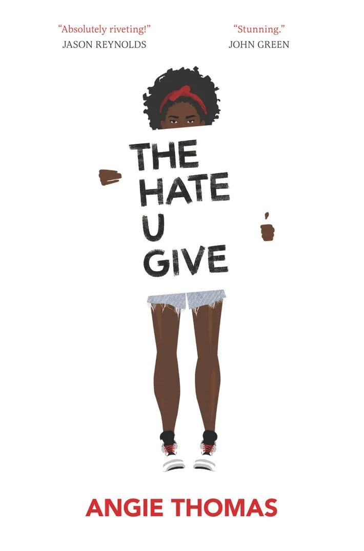 The Hate U Give is #1 on the New York Times Bestseller List