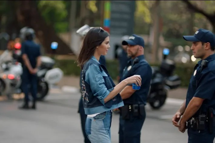 Image result for kendall jenner pepsi