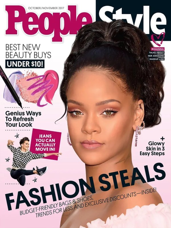 PeopleStyle Folds Monthly Print Edition
