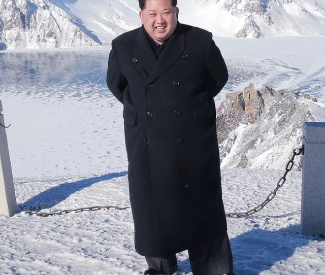 Kim Jong Uns Shoes Sure Are Shiny For Someone Who Just Climbed A Mountain