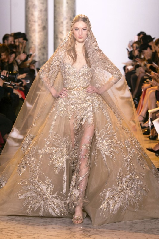 Photo 57 from Elie Saab Bridal Look fit for your Fairytale Weddings from Couture Spring 2017 Collection