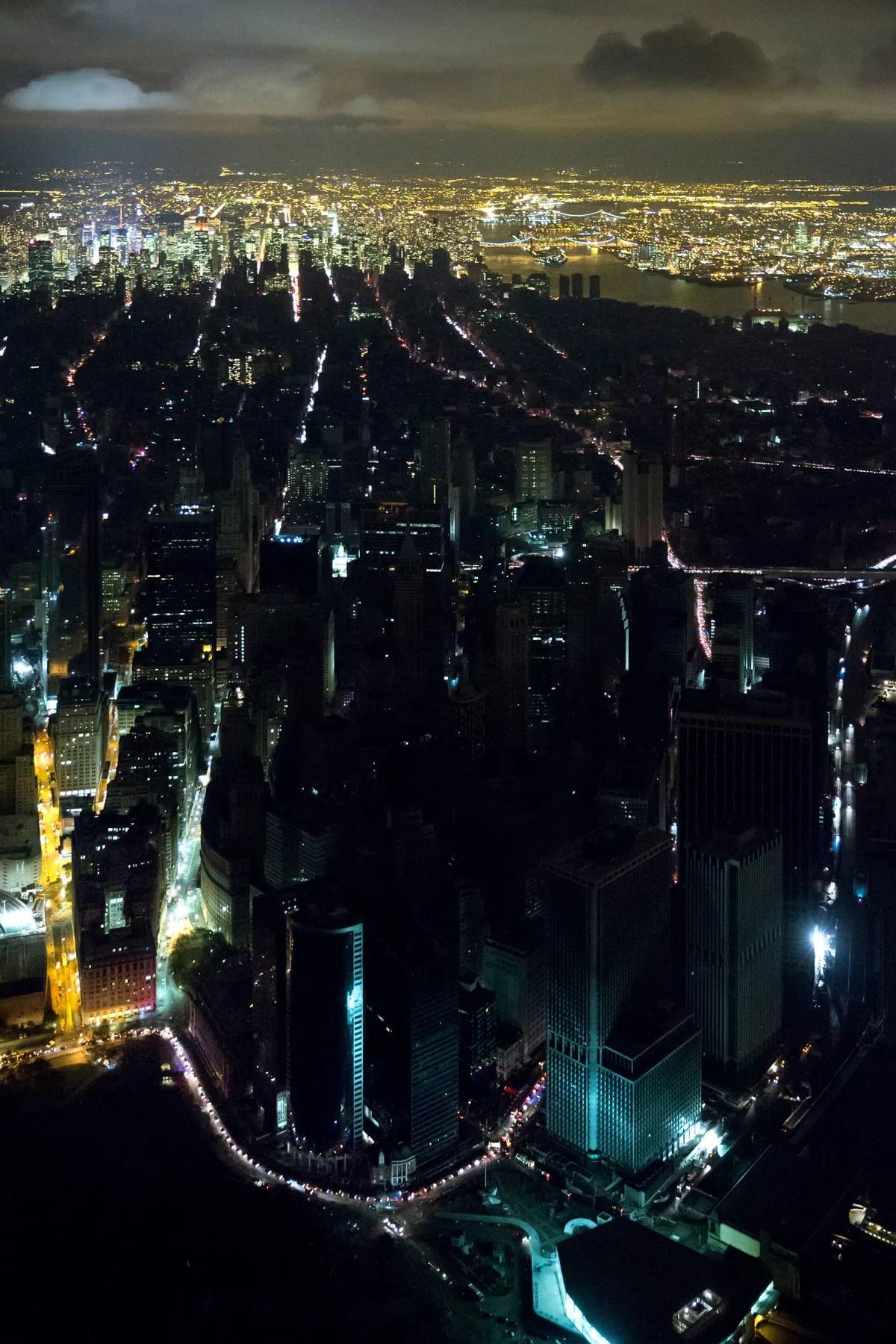 New York During Hurricane Sandy.