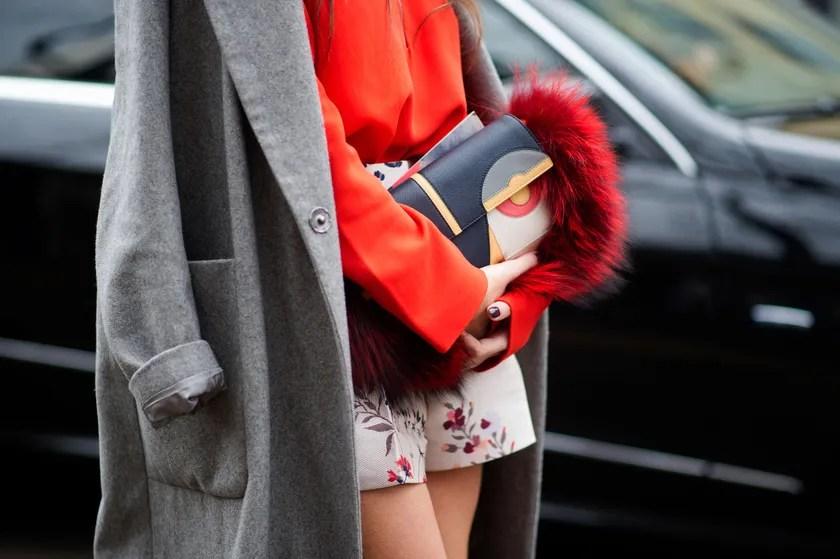 fashion week clutch