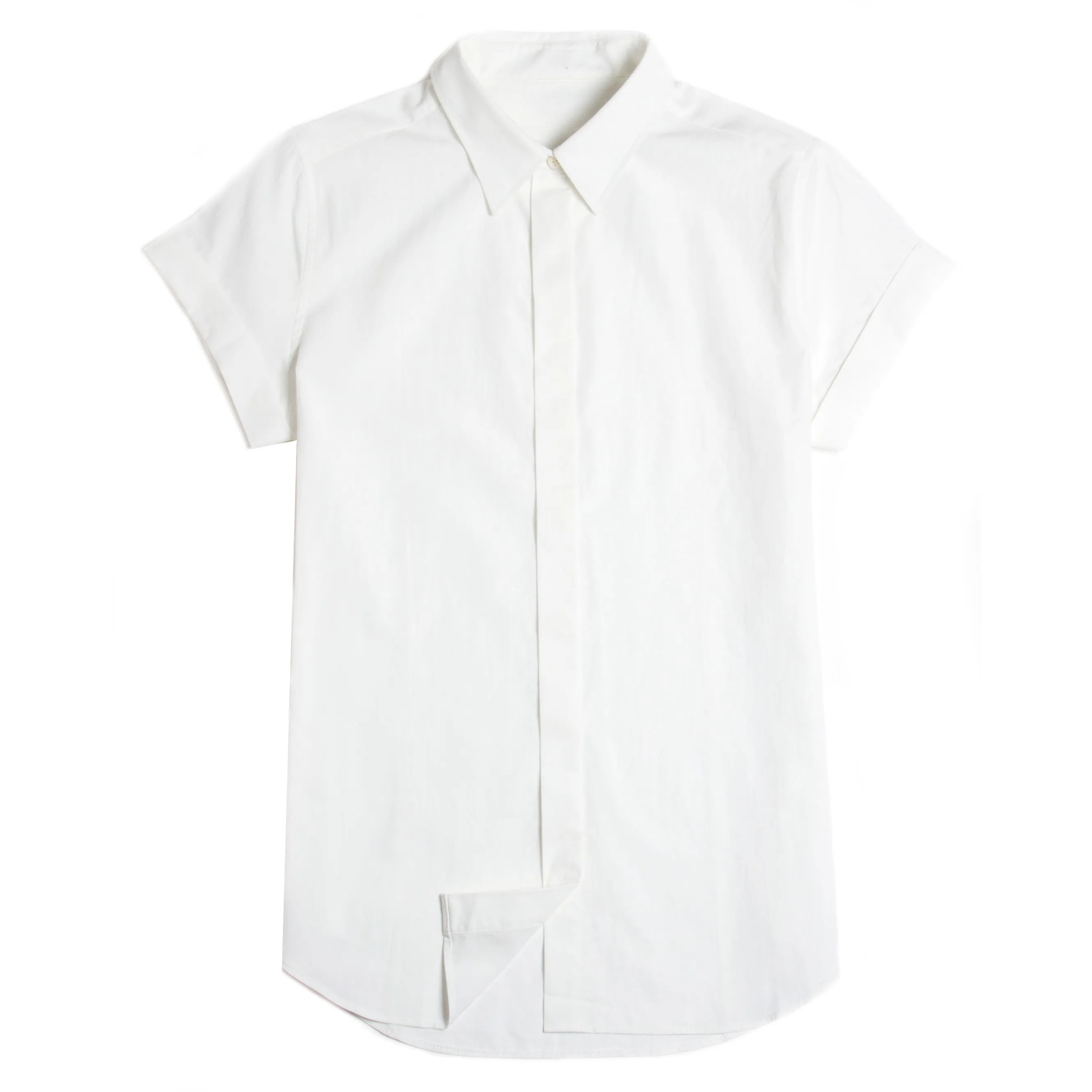 The Simple White Button-Down