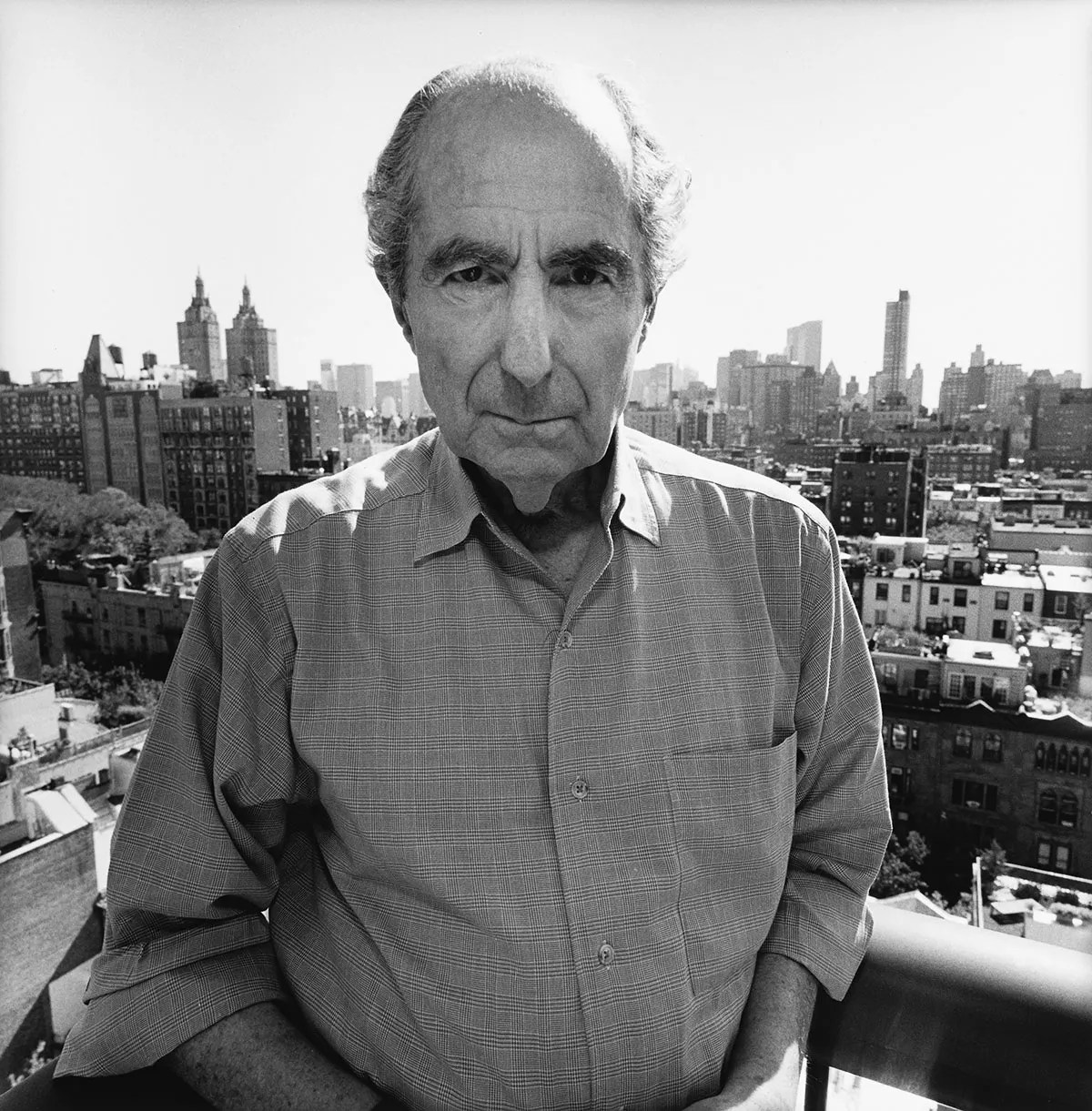 Philip Roth, New York City, 2010.