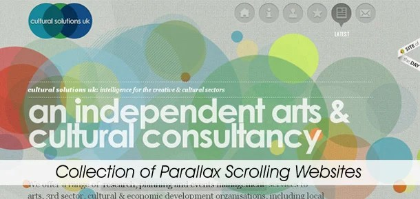 Collection of Parallax Scrolling Websites - Pixel2Pixel Design