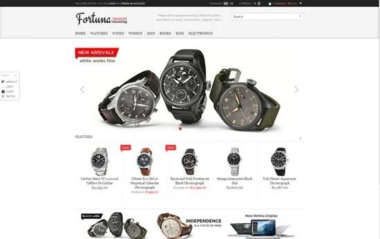 Fortuna - Elegant and responsive OpenCart theme