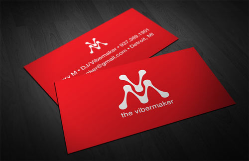 The Vibemaker Business Cards