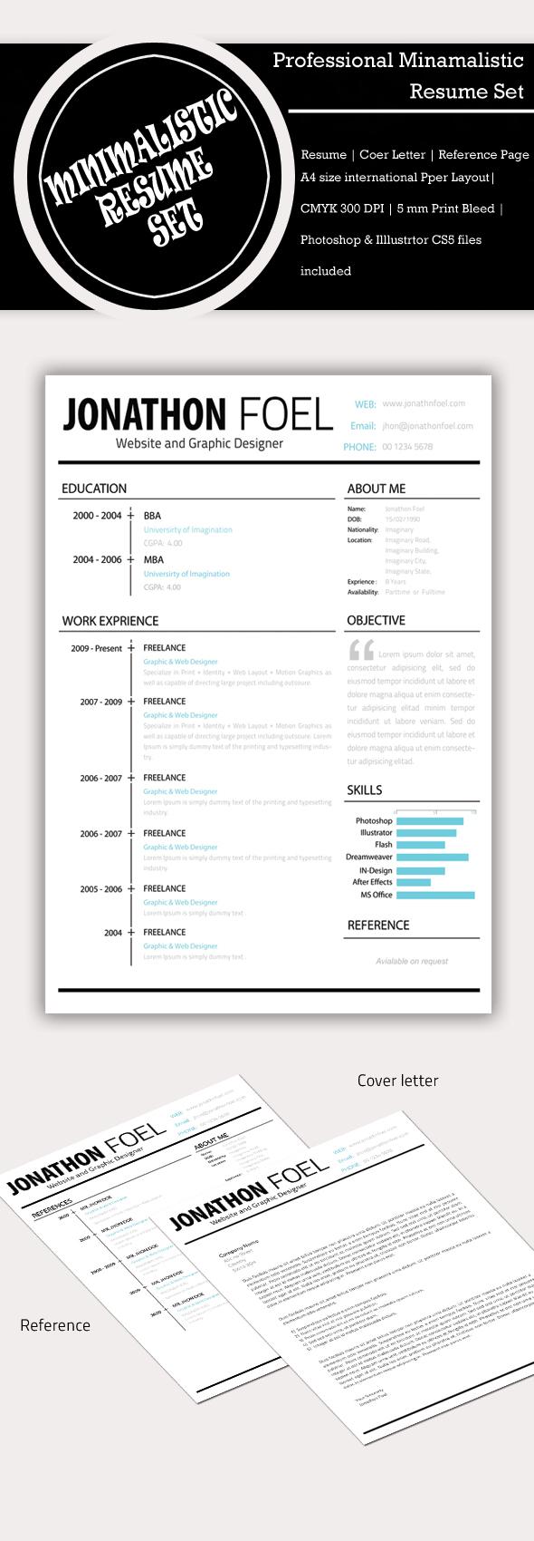Minimalistic-Resume-Template