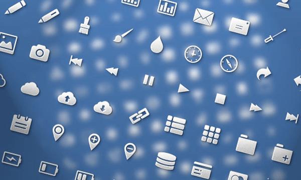 Codrops freebie icon set for web applications glyphs