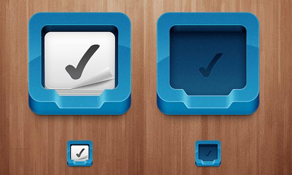 freebie PSD app icon design