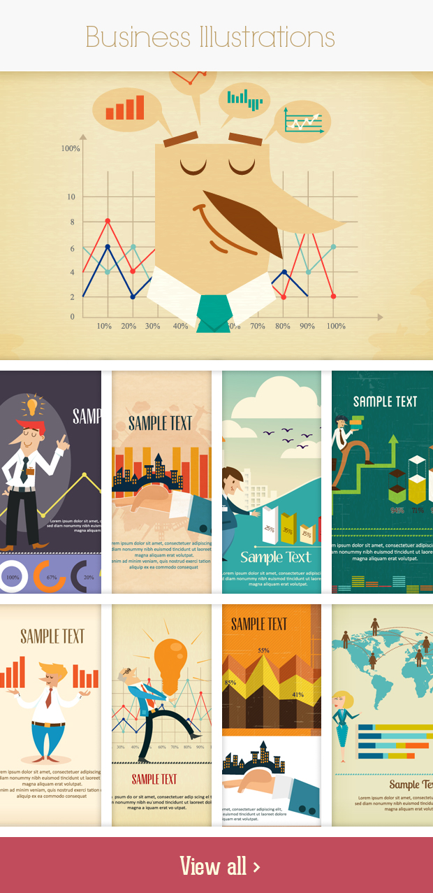 business small Deal of the Week: 600+ Top Quality Vector Illustrations – Only $49