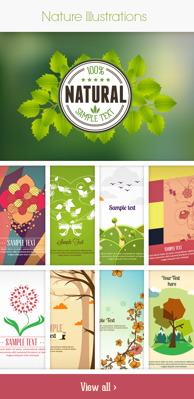 nature small Deal of the Week: 600+ Top Quality Vector Illustrations – Only $49