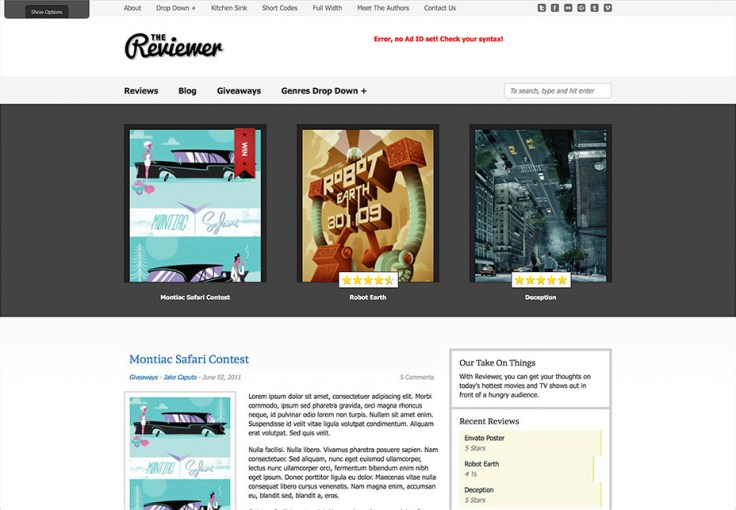 The Reviewer - WordPress Review Themes