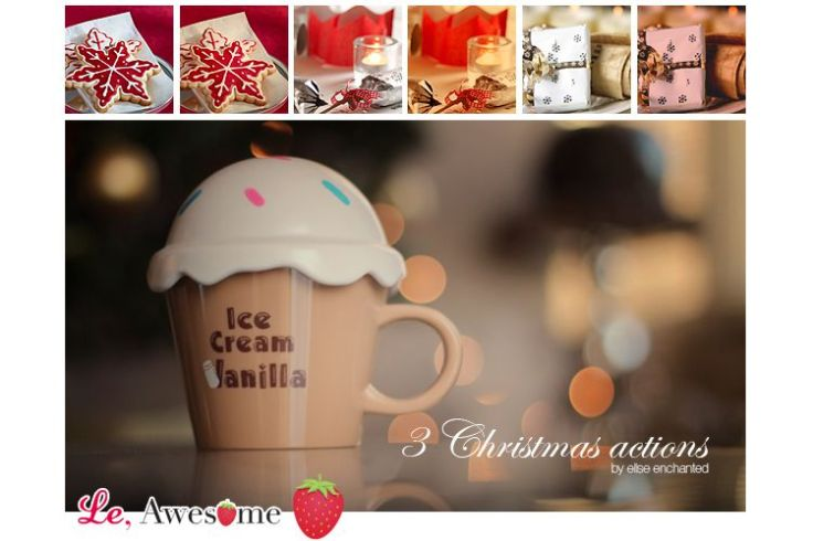 3 Free Christmas Actions free holidays