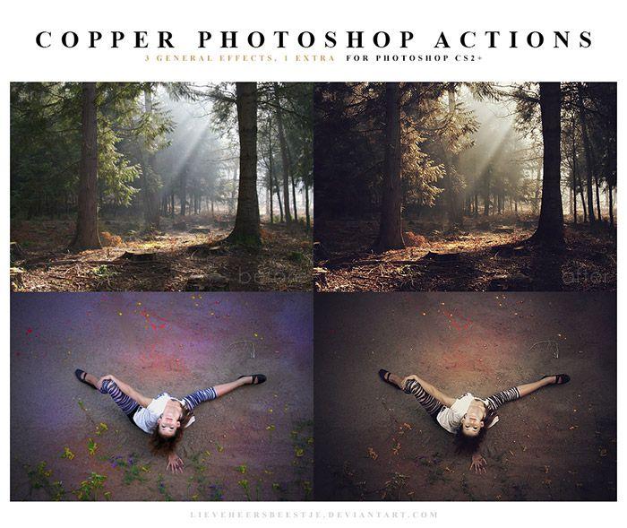 Copper Photoshop Actions