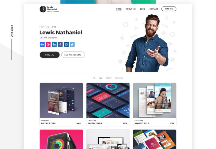 50 Free Responsive Web Design PSD Photoshop Templates