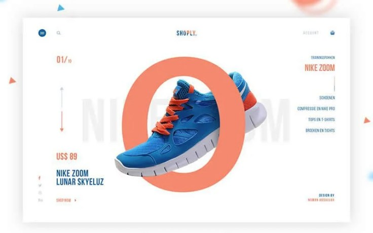 Shoply – Sports eCommerce Responsive Web Design PSD