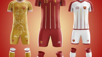 House Lannister Football Kit