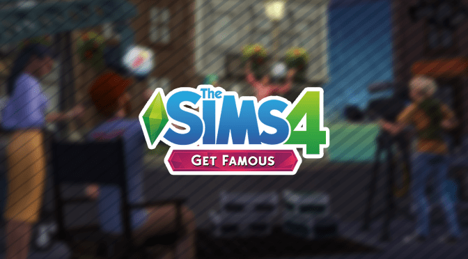 The Sims 4 Get Famous: Official Logo + Renders
