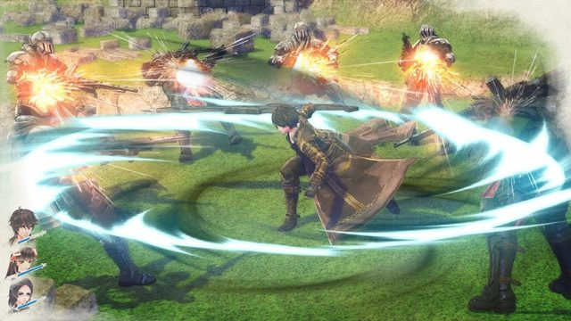 Valkyria Revolution - attaque circulaire