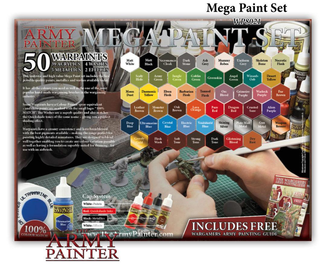 Test Peintures Army Painter Pixel Adventurers