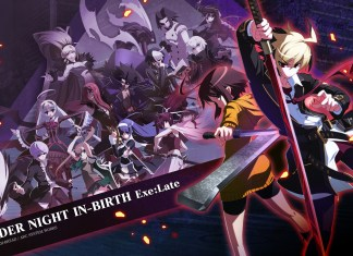 UNDER NIGHT IN-BIRTH Exe:Late[st] - fond d'écran