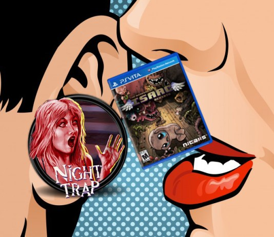 PS Vita - Night Trap Isaac
