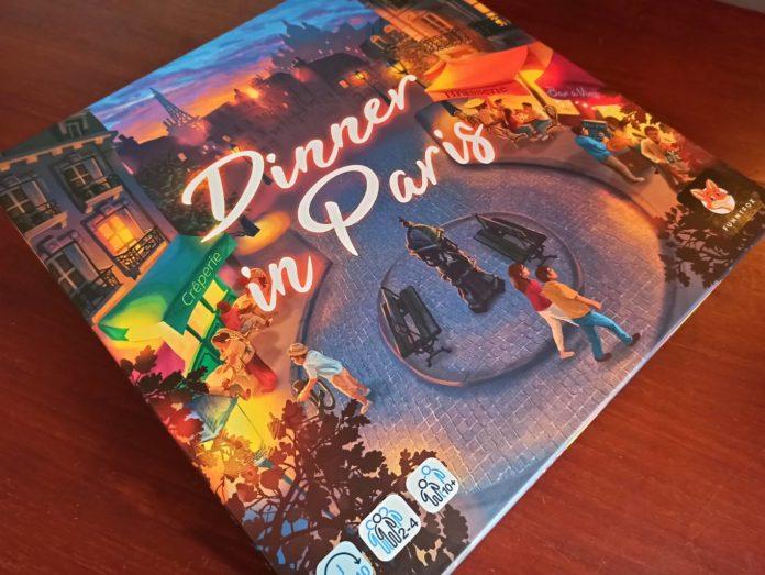 Dinner in Paris - Image à la une