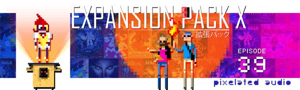 Pixelated Audio - Video Game Music podcast and Retro Gaming Expansion Pack X Halloween