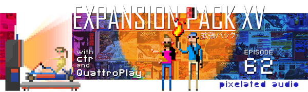 Pixelated Audio - Video Game Music podcast and Retro Gaming ctr quattroplay namco c352