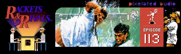 rackets & rivals NES PAL Nintendo pixelated audio