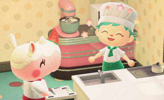 Animal Crossing New Horizons: Isabelle's Coffee ... on Animal Crossing Kitchen Counter  id=85109