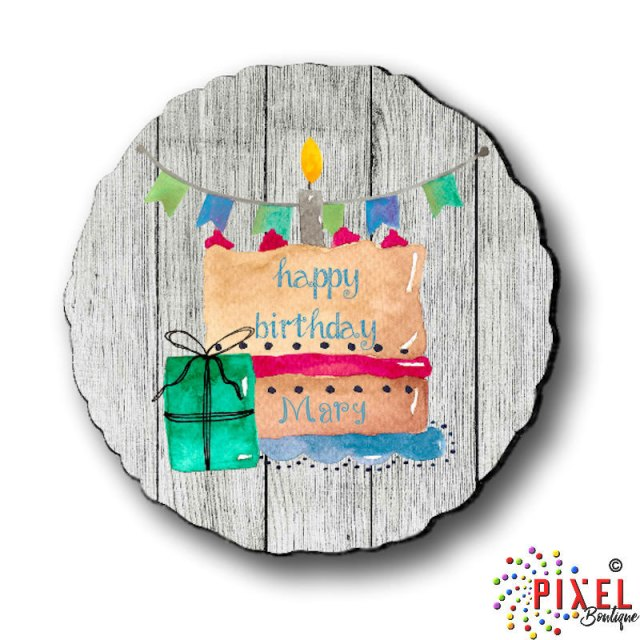 Birthday Attachment With Name Personalization