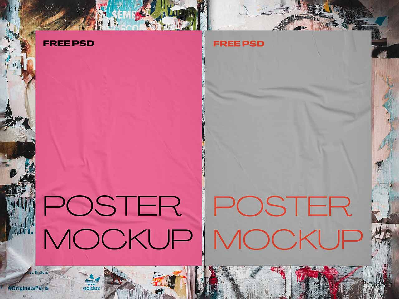 Why pay for vintage posters that are already in the public domain when you could instead just download high quality posters at freevintageposters.com? 50 Free Poster Mockups Psd Templates On Pixelbuddha