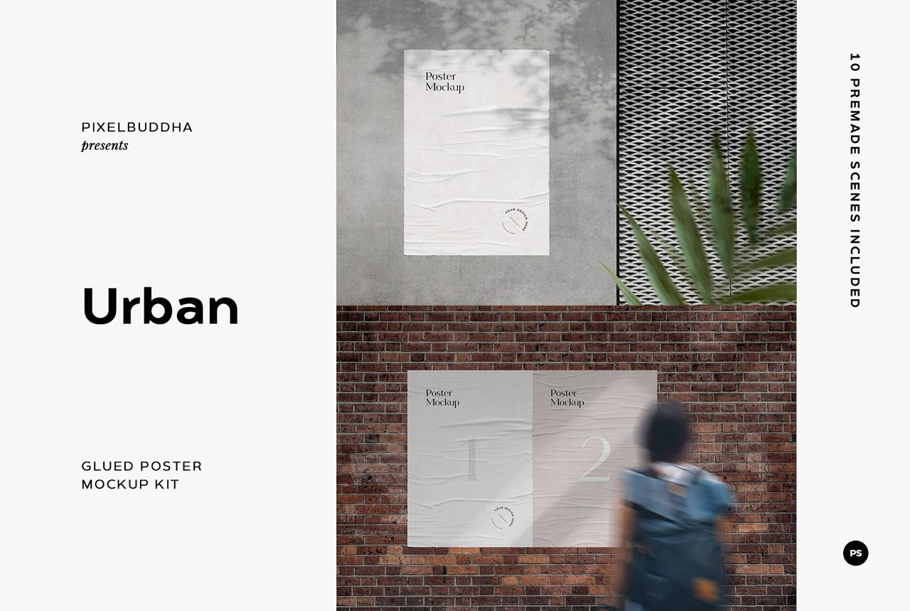 Editable format also help you to create a scene according to your demand. 50 Free Poster Mockups Psd Templates On Pixelbuddha