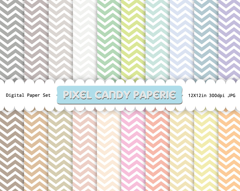 digital scrapbooking, chevron papers, free