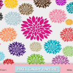 Free Flowers Clip Art Images Pack